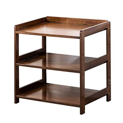 YULAN Sofa latéral Armoire de Coin Petite Table à thé Rack de Stockage de thé Petite Table à thé Amovible Table de lit (Size : 35X38X50cm)