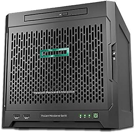 HP MicroServer Gen10 Mini Tower Server, AMD Opteron X3421 up to 3.4GHz, 32GB RAM, 16TB Storage, RAID, Windows Sever 2019, 3 Years Warranty