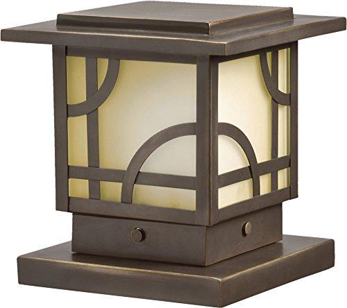 Kichler 15474OZ, Larkin Estates Low Volt Solid Brass Landscape Deck Lighting Xenon, Olde Bronze