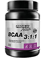 BCAA 3:1:1 Optimized branched Chain Amino acids to Build and Repair Muscles by PROM-IN   500 capsules