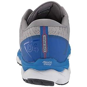 Mizuno Men's Wave Sky 4 WAVEKNIT Running Shoe, Frost Grey, 11 D US