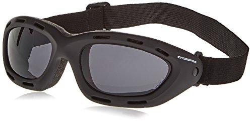 Crossfire 91352AF Element Safety Goggles Smoke Anti-fog Lens - Frame