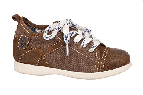 Spieth & Wensky Kinder Trachten Sneaker - Joy - braun, Größe 35