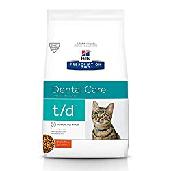 Hills t/d - Best Dental Food for Cats