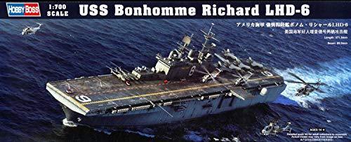 ホビーボス 1/700 艦船 アメリカ海軍強襲揚陸艦 ボノム・リシャールLHD-6 83407 プラモデル