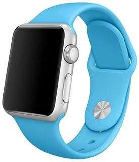 Silikon Klockarmband Apple Watch, 42mm, Blå
