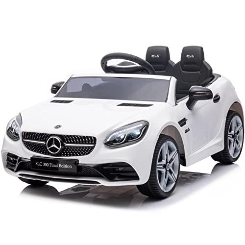 期間限定価格 電動乗用カー 乗用ラジコン メルセデス ベンツ SLC 正規品 電動乗用玩具 電動乗用ラジコン [704] 子ども向け