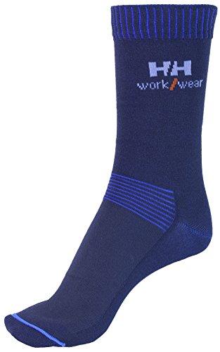Helly Hansen Workwear 2 Paar Arbeitssocken Helsinky Socks, robuste Socken für Handwerker, Industrie Gr. 36 - 39, schwarz, 75721