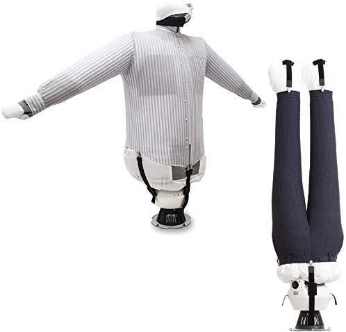 EOLO RepaSSecheur plancha y seca automáticamente Camisas, Blusas, Pantalones. Refresca la ropa con aire frío Planchado vertical profesional con ahorro energético 5 años de garantía SA04 EFR