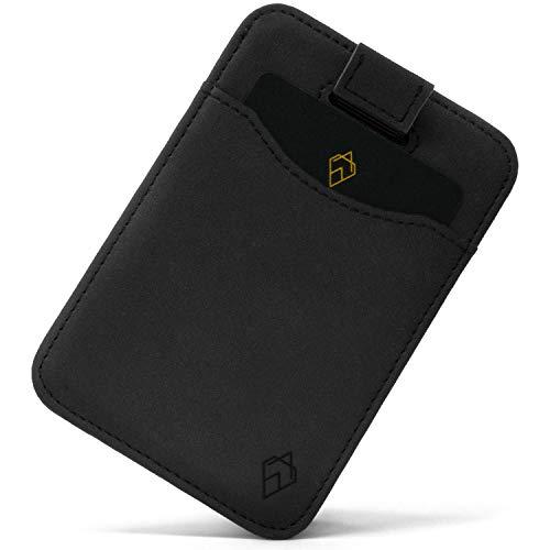 AKIELO portafoglio | Raccoglitore di carta minimalista - RFID blocco titolare della carta di credito e contenitore di regalo | Genuine Pelle Portafoglio per gli uomini - Charlie Collezione