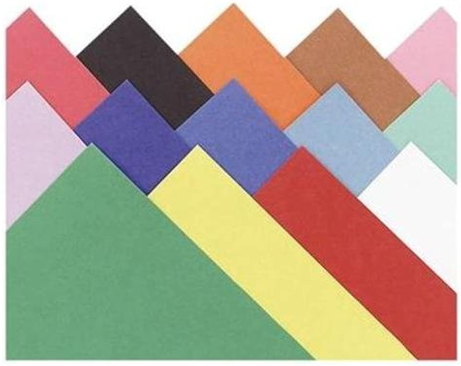 Construction Paper, 9 x12 , 50 PK, Bright White, Sold as 1 Package