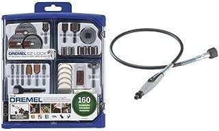 Dremel 710-08 Accessory Kit and 225-01 Flex Shaft Attachment Bundle