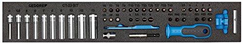 GEDORE 1500 CTD-20 BIT Steckschlüssel-Sortiment 1/4