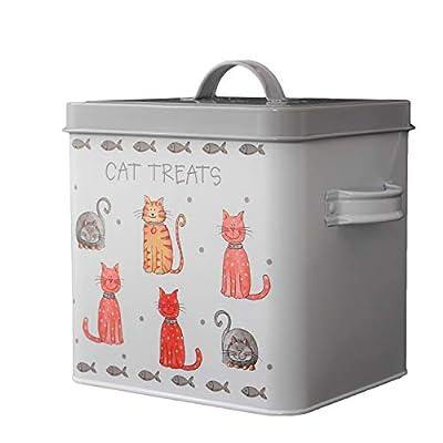 The Leonardo Collection Faithful Friends Cat Treats Box