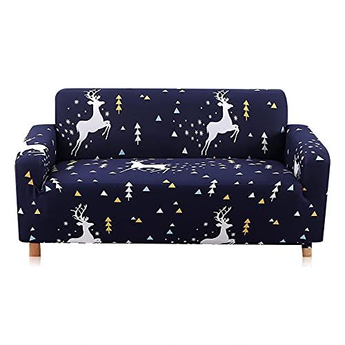 WXQY Funda de sofá elástica,Funda de sofá de Sala de Estar,Funda de sofá elástica elástica,Funda de sillón de Esquina en Forma de L Funda de sofá A16 4 plazas