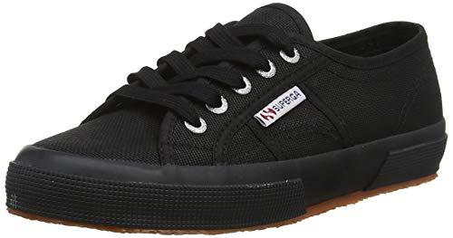 Superga Unisex 2750 Cotu Classic Sneaker, White Black, 39 EU