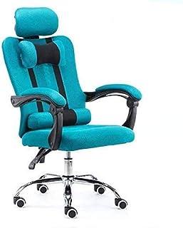 MHIBAX Gaming ChairHome Office Ascenseur ergonomique inclinable pour ordinateur avec support de pied chaise pivotante