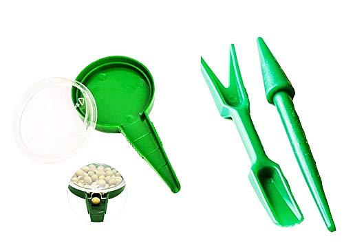Inception Pro Infinite Seminatrice Manuale di precisione - seminare ortaggi - Coltivare orto - Giardino - Confezione da 3 Pezzi - Idea Regalo Natale e Compleanno