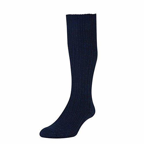 HDUK Mens Socks Herren Socken Gr. UK 6-11 EU 39-46, navy