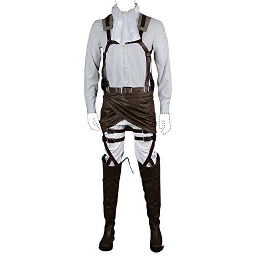 Holysteed Attack On Titan Cosplay Costume Levi Ackerman Costume Set XXX-Large