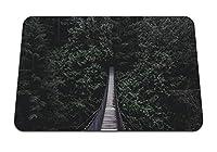 22cmx18cm マウスパッド (橋吊り橋の木) パターンカスタムの マウスパッド