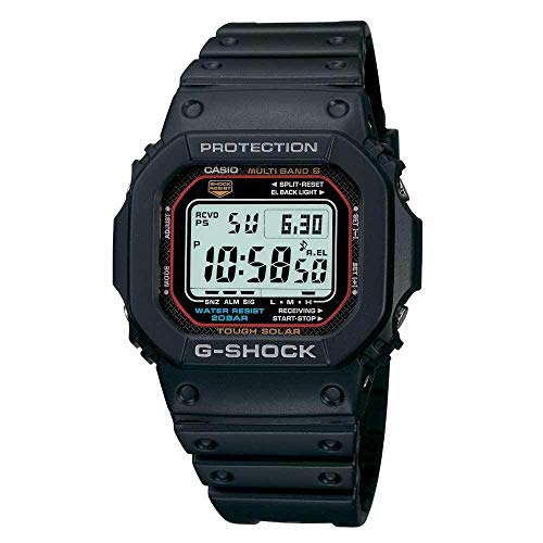 Casio G-Shock MB-6 GWM5610-1 Atomic Solar Classic Multi-Band 6 Wristwatch