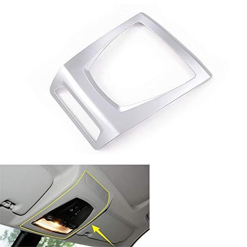 CocheAuto Interior del Coche Techo de Coche Luz de Lectura Panel de la lámpara Cubierta del Marco Etiqueta de Estilo, para BMW X3 2014-2017