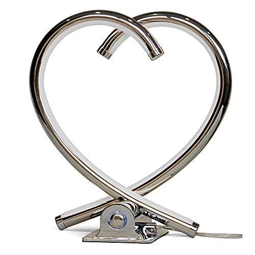 LED Herzleuchte VALOR dimmbar aus Aluminium - Geschenk zum Muttertag - Dekoration Deko Dekoleuchte Herz