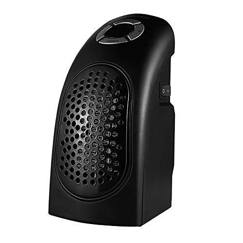 Yajun Heizung Fan Mini Radiator Portable Heizkörper Automatische Konstante Temperatur Winter Haushalt langlebig Konvektor Heizungs,Black