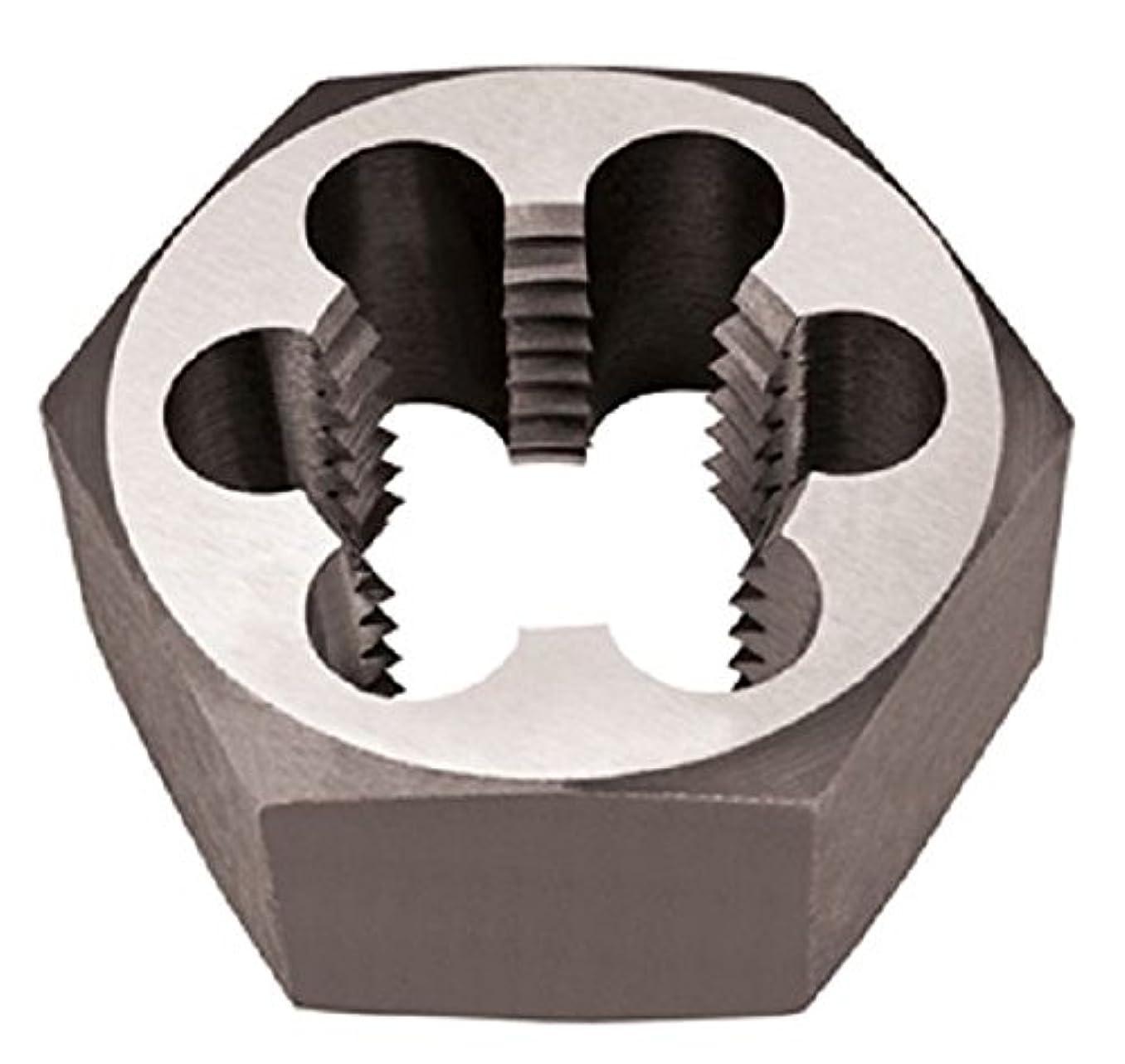 Alfa Tools CSRTD70690L 4-48 Left Hand Rethreading Hex Die Carbon Steel,