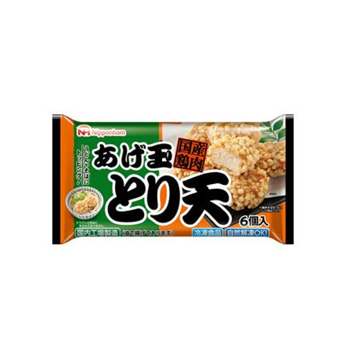 日本ハム あげ玉とり天 90g×15個 【冷凍食品】