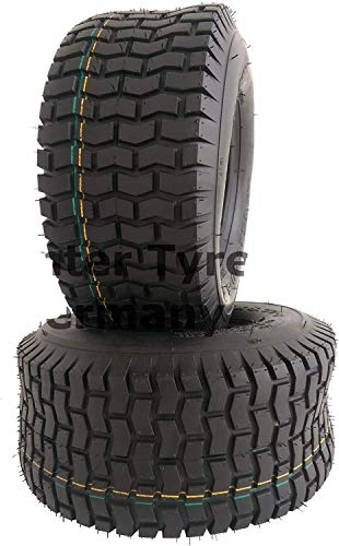 Narubb 13x6.50-6 S2101 - Neumáticos para cortacésped (2 unidades, 13x6.50-6, 4PR, para tractor cortacésped)