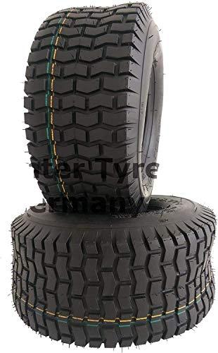 2 Stücke 13x5.00-6 S2101 NaRubb 13x5-6 4PR Reifen für Rasentraktor Aufsitzmäher NEU Rasenreifen