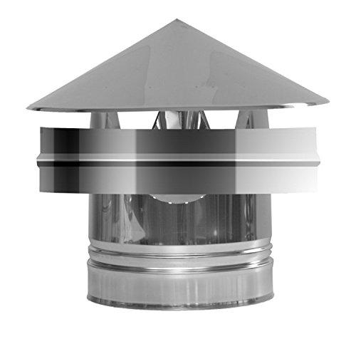 SOMBRERETE ANTIVIENTO INOX DW 316L/304 100