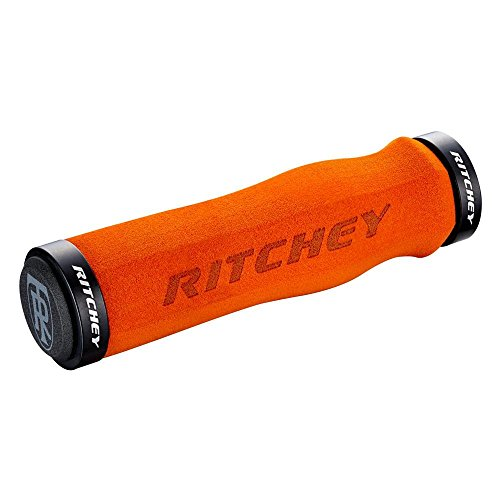 Ritchey WCS Ergo Lenkergriffe, Orange, 130 mm