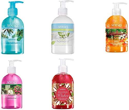 Avon Senses Handwasch-Set (5 Flaschen à 250 ml)