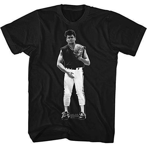 American Classics Major League 1989 Sports Comedy Movie Wild Thing Junk Black Adult T-Shirt Tee