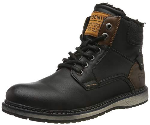 TOM TAILOR Herren 7985302 Klassische Stiefel, Schwarz Black 00001, 44 EU