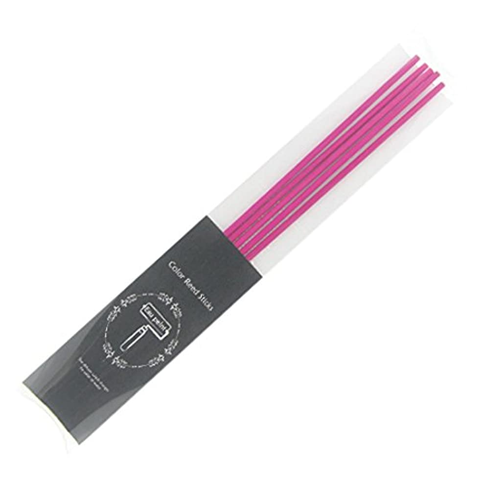 金額荷物ポールEau peint mais+ カラースティック リードディフューザー用スティック 5本入 ピンク Pink オーペイント マイス