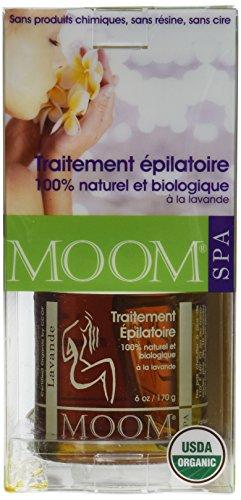 Moom Moom Organic Hair Removal Kit with Lavender - 1 Kit