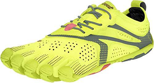 Vibram FiveFingers V-Run, Chaussures de Running Femme, Jaune (Yellow), 39 EU