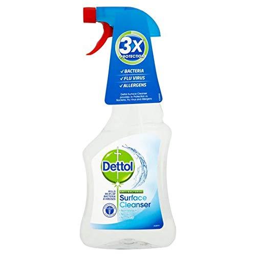 Dettol antibacteriano DESINFECCIÓN superficie limpiador (Disparador SPRAY) 500ml (SET DE 6)