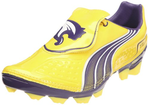 PUMA V1.11 i FG Mens Soccer Boots/Cleats-Yellow-8.5