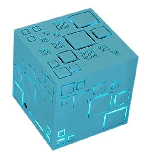Byx- draadloze Bluetooth-luidspreker - Cool lantaarn Cube 4.0 mobiele subwoofer Mini draagbare kaart HiFi klein geluid creatief cadeau multicolor Optioneel @