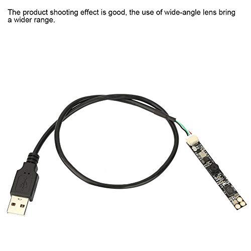 Keenso USB-Kameramodul USB mit Kamera 2592 * 1944 HD-Weitwinkelobjektiv USB-Kamera für industrielle Bildverarbeitung, unverzerrtes Imaging, korrigierbar, Aptina-Sensor