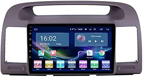 Estéreo para automóvil para Toyota Camry 2000-2005 Reproductor de navegación por radio Android 10.0 Unidad principal con Carplay Pantalla táctil IPS de 10.1 pulgadas BT / WiFi con cámara de respaldo
