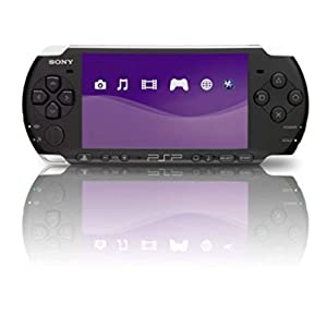Portable, PlayStation Portable 3000 Core Pack System - Piano Black Edition: Standard Consumer Electronic Gadget Shop