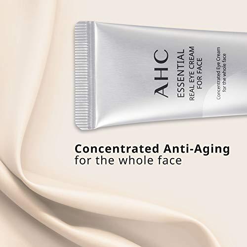 41uHJsDgkQL - Aesthetic Hydration Cosmetics AHC Face Moisturizer Essential Eye Cream for Face Anti-Aging Hydrating Korean Skincare 1.01 oz