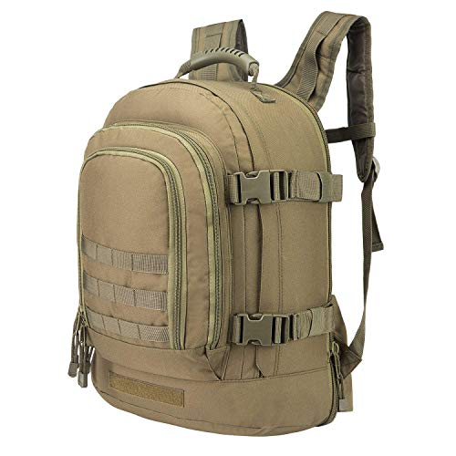 GreenCity Laptop Backpacks Tactical Military 3 Day Expandable Bug Out Bag Classic School Case Travel Hiking