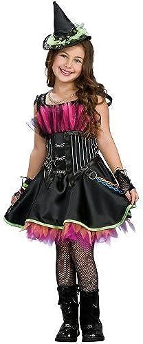 Girls Rockin Out Witch Costume, schwarz, Girls by Asstd National Brand